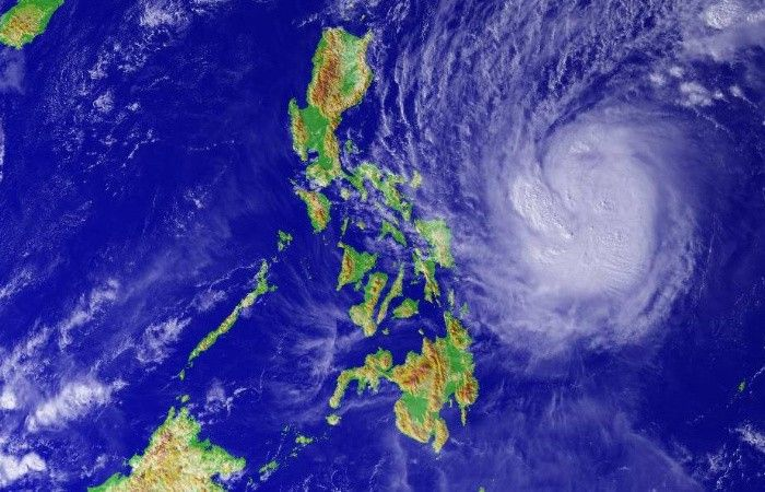 Typhoon Kommuri in the Philippine area of responsibility