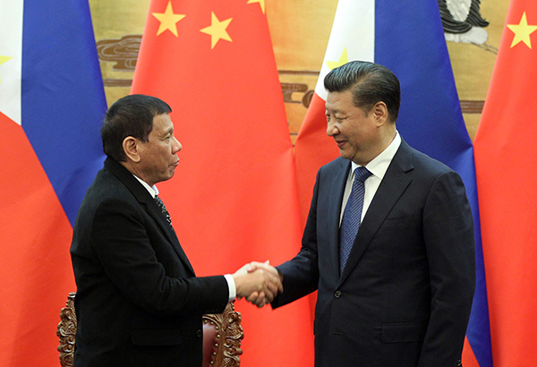 Xi to Rody on SCS military buildup: It�s nothing