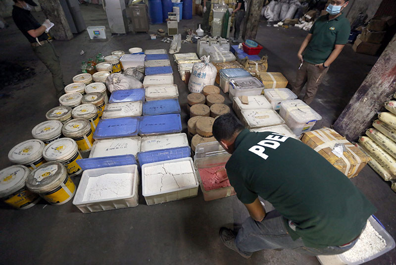 PDEA names triads behind shabu supply in Philippines