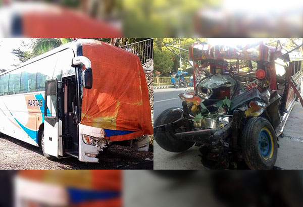 Christmas Jeepney.Christmas Day Tragedy 20 Dead In Road Collision Philstar Com