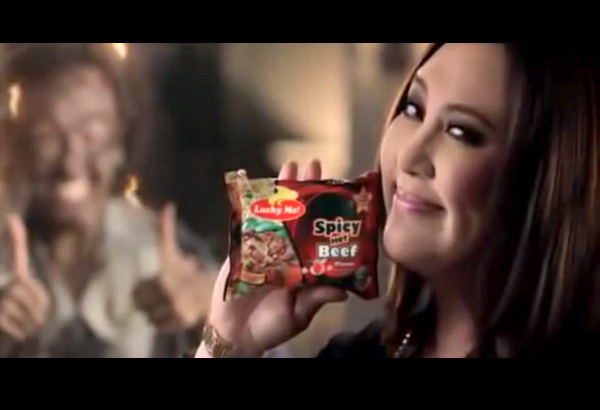 lucky me commercial