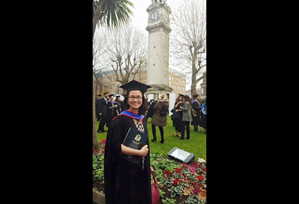 Filipina lawyer tops UK school