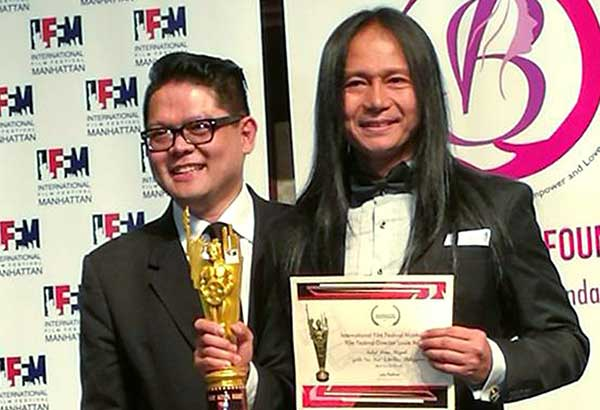 Phl wins at Int�l Film Festival Manhattan (IFFM)