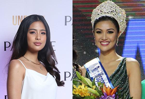 "From left: Kapuso stars Gabbi Garcia (Photo release) and2017 Reina HispanoamericanaTeresitaSsen""Winwyn""Marquez.Philstar.com/File photo"