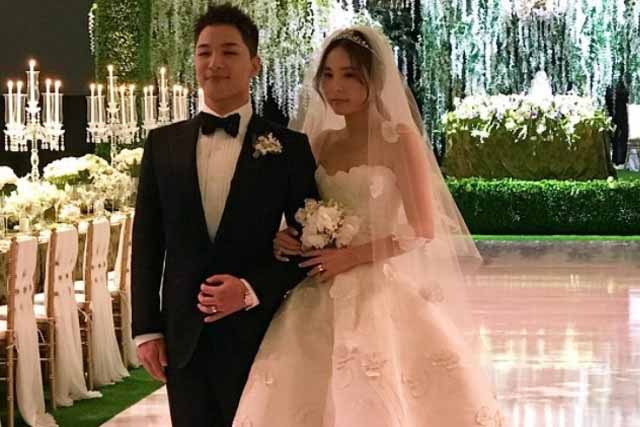 In Photos Celebs Who Attended Taeyang And Min Hyo Rin S Dope Wedding Philstar