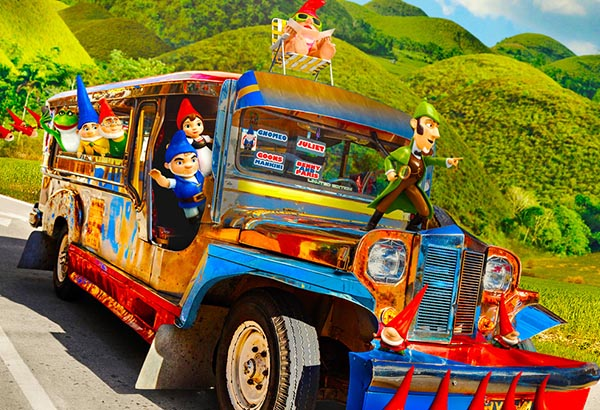 Pinoy jeepney, Bohol featured in Hollywood poster