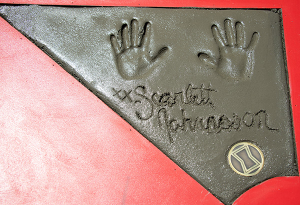 In photos: 'Avengers: Endgame' cast's handprints in