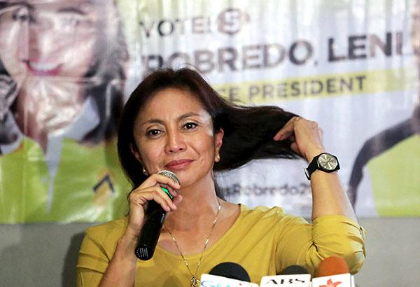 VP Leni Robredo won fair and square