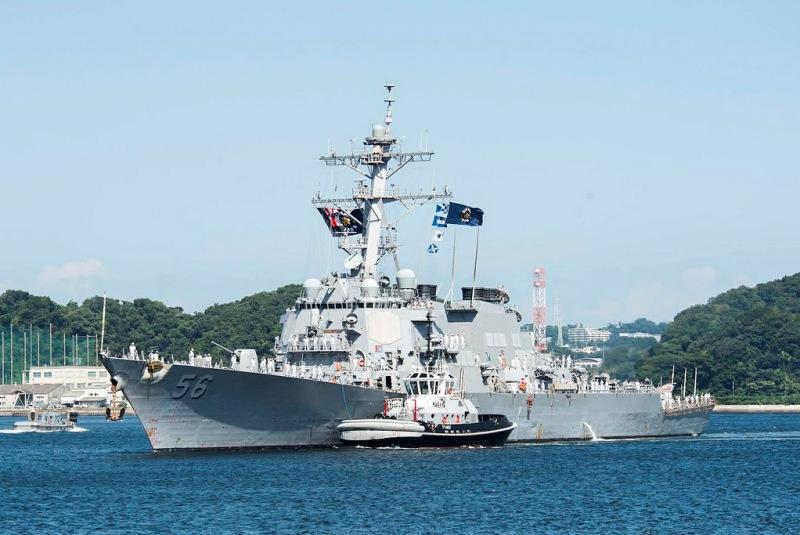 Philippines: US destroyer in Mischief Reef not objectionable