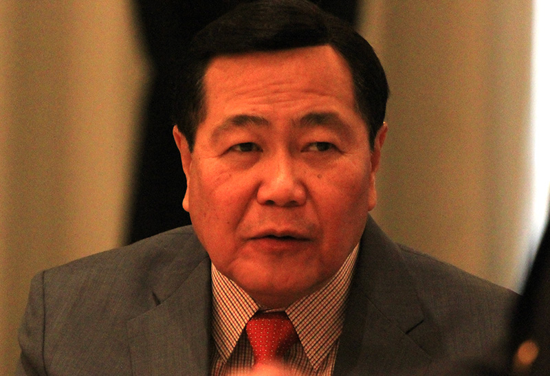 """""""The language of the Constitution is explicit, that the exclusive economic zone is part of the national territory and that it should be for the enjoyment and exploitation exclusively of Filipinos alone. We cannot enter into joint development within the EEZ,"""" Senior Associate Justice Antonio Carpio said in a recent interview. EEZ stands for exclusive economic zone. Jonathan Asuncion, File"""