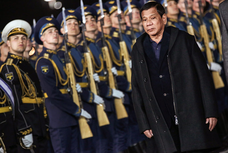 No Philippines-Russia security alliance, but closer economic ties