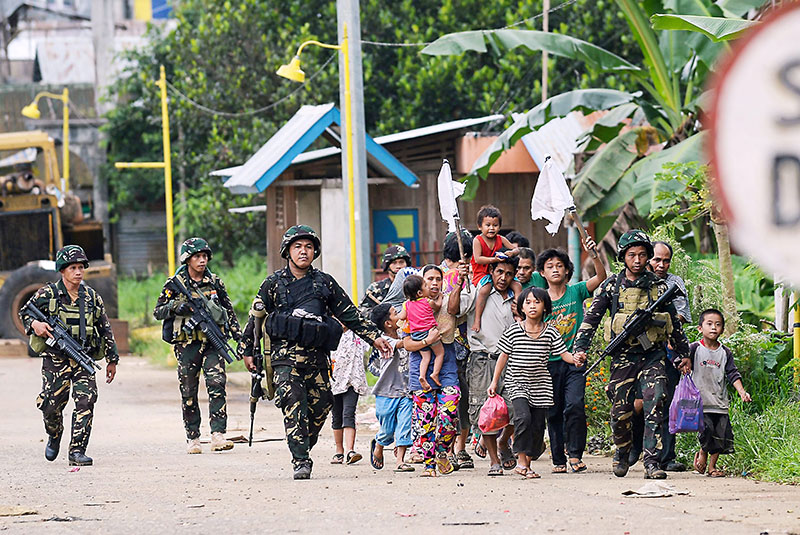 Marawi City: A year of valor and bravery