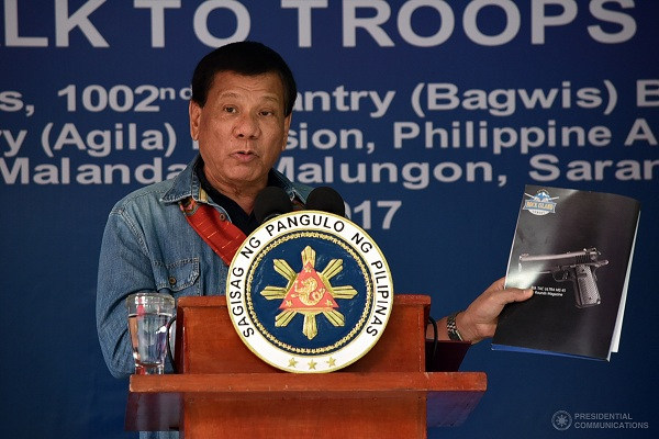 Duterte: Shoot suspects who fight back, make them fight if they don't