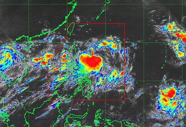 'Gorio' now a tropical storm