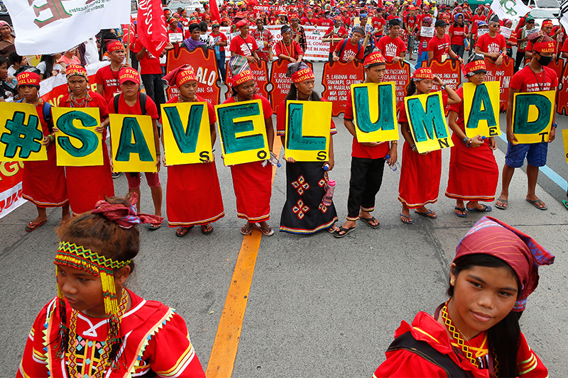 Lumad group to resist 'intrusion' into ancestral lands