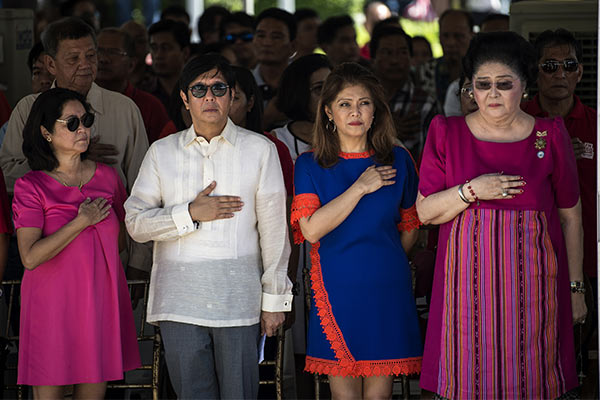 Cases vs Marcoses, cronies remain pending at Sandigan since late '80s