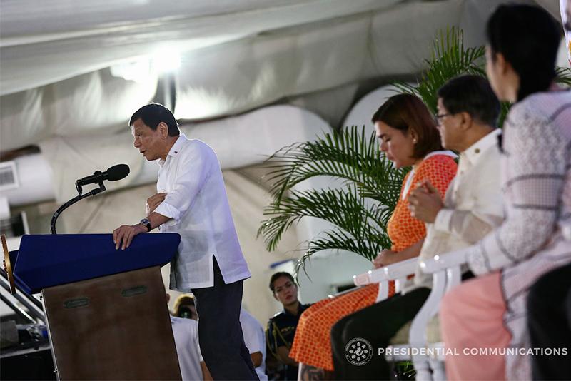 Duterte admits 'inventing' alleged Trillanes account number