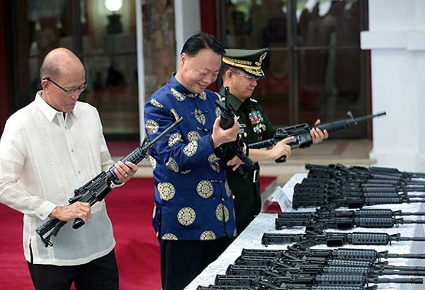 PNP to get second batch of rifles from China