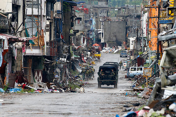 Military: Maute continuing its recruitment in Marawi