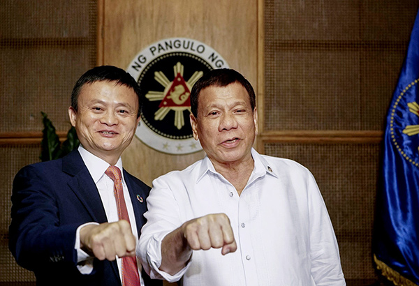 Jack Ma keen on making Philippines internet faster