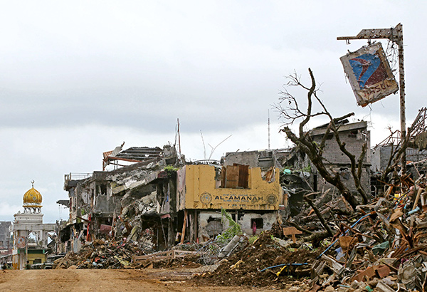 US provides additional P330M aid for Marawi
