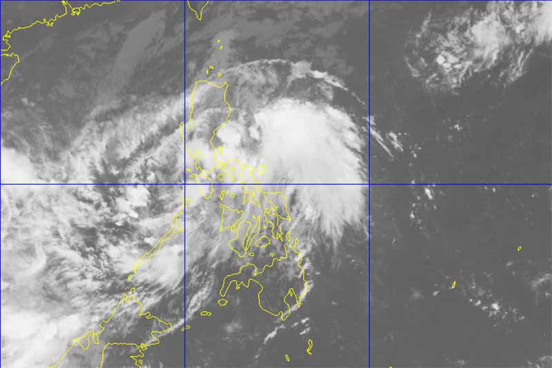 All trips to, and from the Batangas port have been cancelled due to rains brought by Tropical Depression Ramil. PAG-ASA/Released