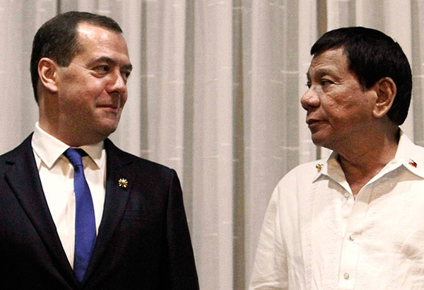 Rody ready to expand trade with Russia