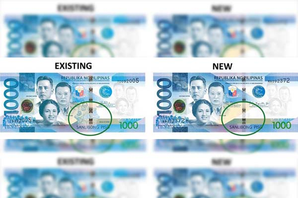 LOOK: BSP releases banknotes with enhanced design
