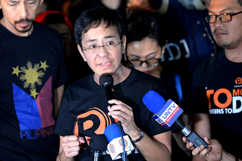 DOJ indicts Rappler on tax evasion charges