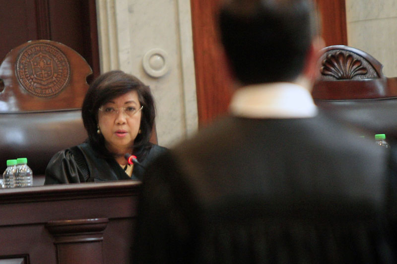 When the 292-member House upholds the report, Sereno will then be considered impeached and the Articles of Impeachment prepared by the lawmakers will be sent immediately to the Senate Impeachment Court, where senators will sit as judges in a court-like trial. Edd Gumban