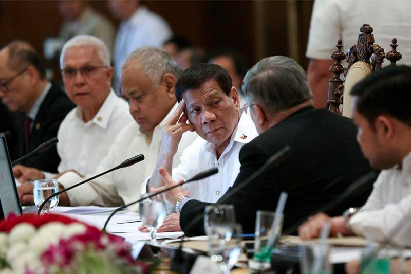 Duterte wants foreigners out of Benham Rise