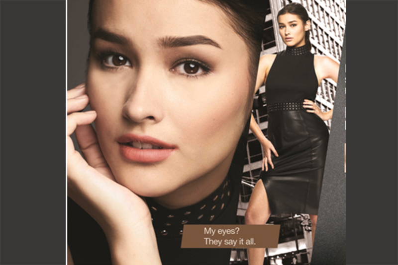 Upcoming Darna, Liza Soberano, believes eyebrows speak volumes of one's beauty and power. Photo release