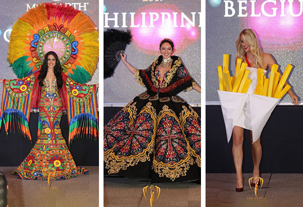 Miss Earth 2017 National Costumes Filipino Designers Give Their Verdict Philstar Com