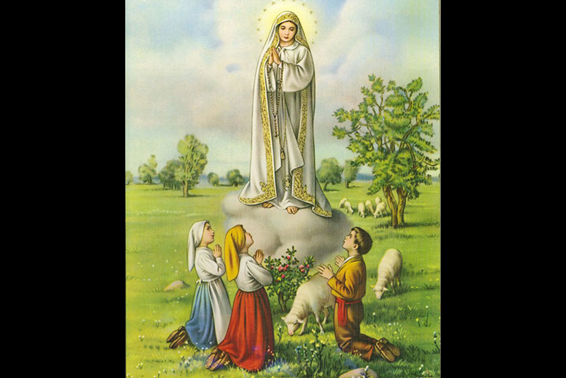 It's been 100 years since Our Lady of Fatima first appeared to three shepherd children Lucia, Francisco, and Jacinta. turmarion.wordpress.com