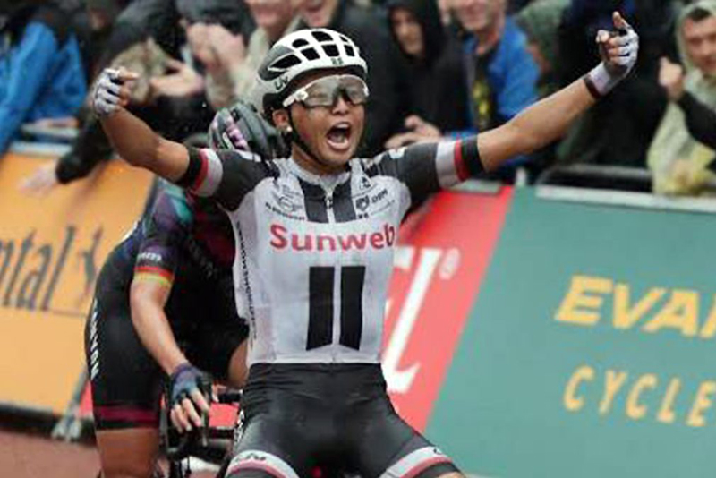 World number 4 Filipino Cyclist Coryn Rivera: How to make it to the top