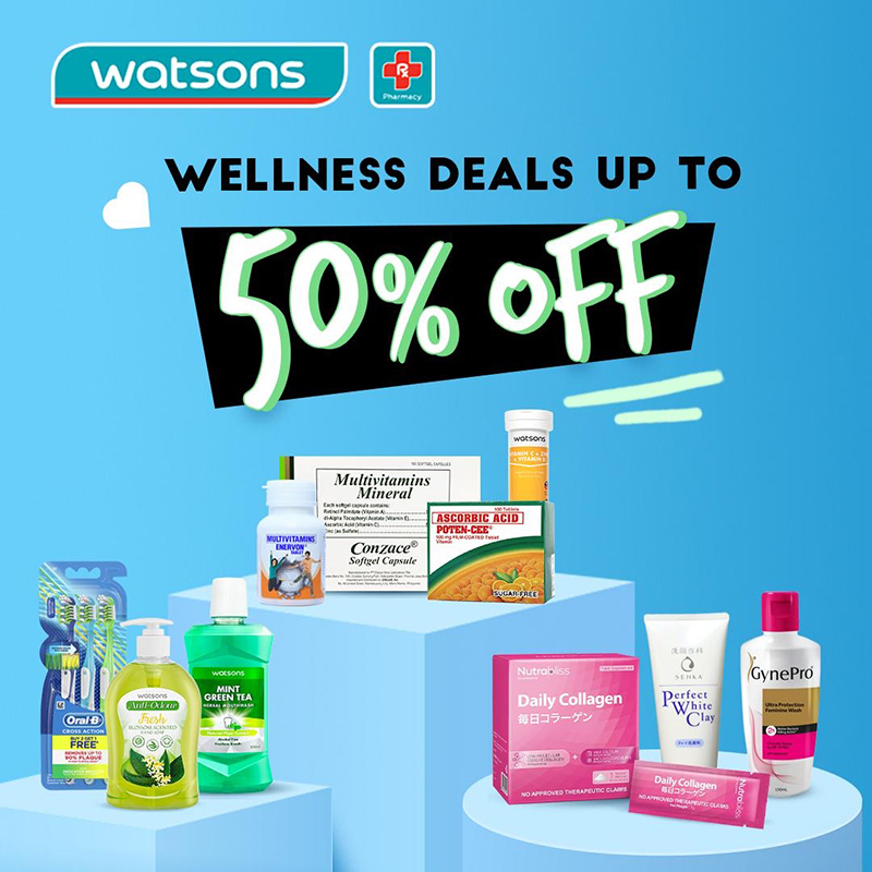 Restock your health, beauty faves at Watsons nationwide clearance sale this May 14 to 16