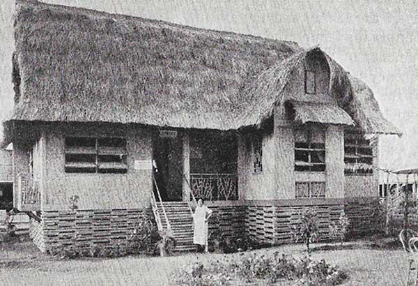 The modern Filipino house in 1935