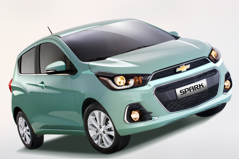 Cute and tough, too: The all-new Chevrolet Spark