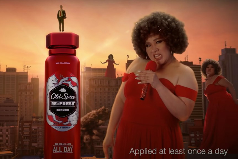 Old Spice brings much-needed dose of humor in its epic video