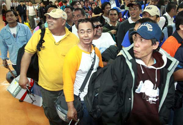 Over a million OFWs deployed in 2017 � DOLE