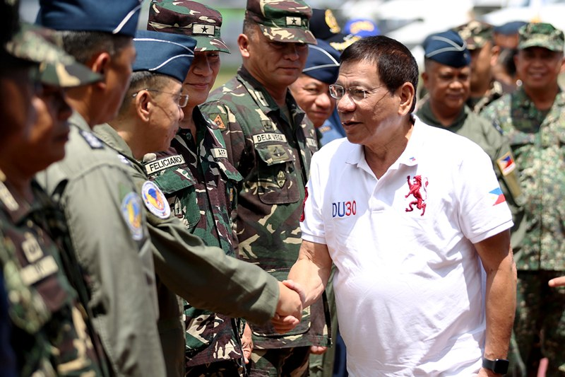 Groups concerned over 'creeping militarization' of Duterte Cabinet