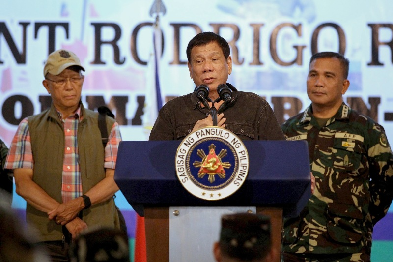 Duterte insists on public debate with UN special rapporteur