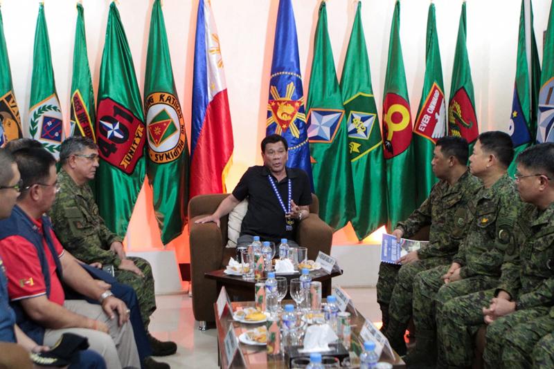 Duterte approves mandatory ROTC