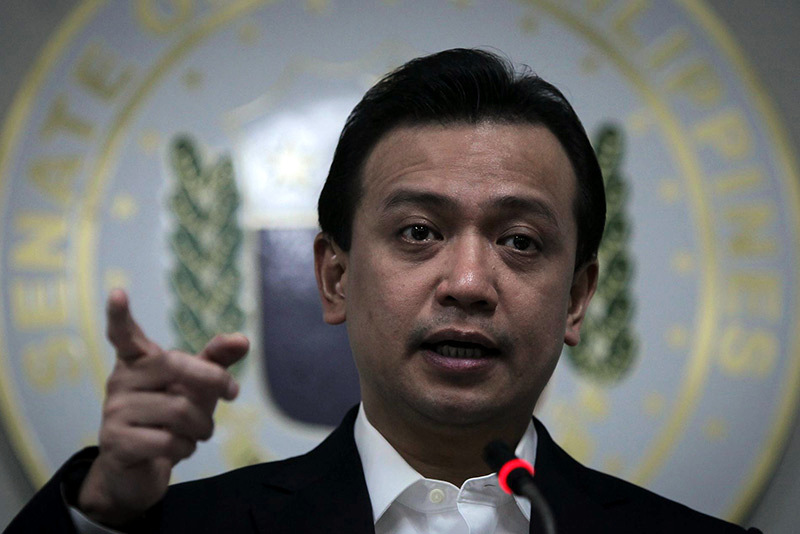 Trillanes: Supposed affair with ex-AMLC exec another made-up story