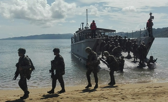 Marines arrive in Iligan to reinforce troops in Marawi