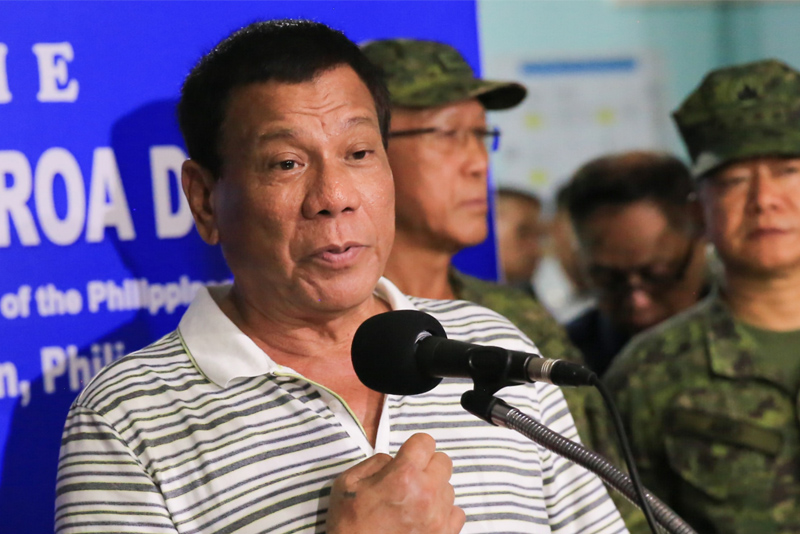 Duterte to Maute: No talks even if you kill hostages