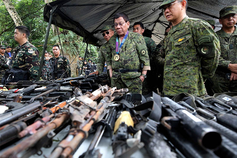 In a statement, MAT said President Rodrigo Duterte wants to use martial law in the southern Philippines to escalate his brutal counterinsurgency campaigns and war on drugs and crackdown on dissent. PPD/Ace Morandante