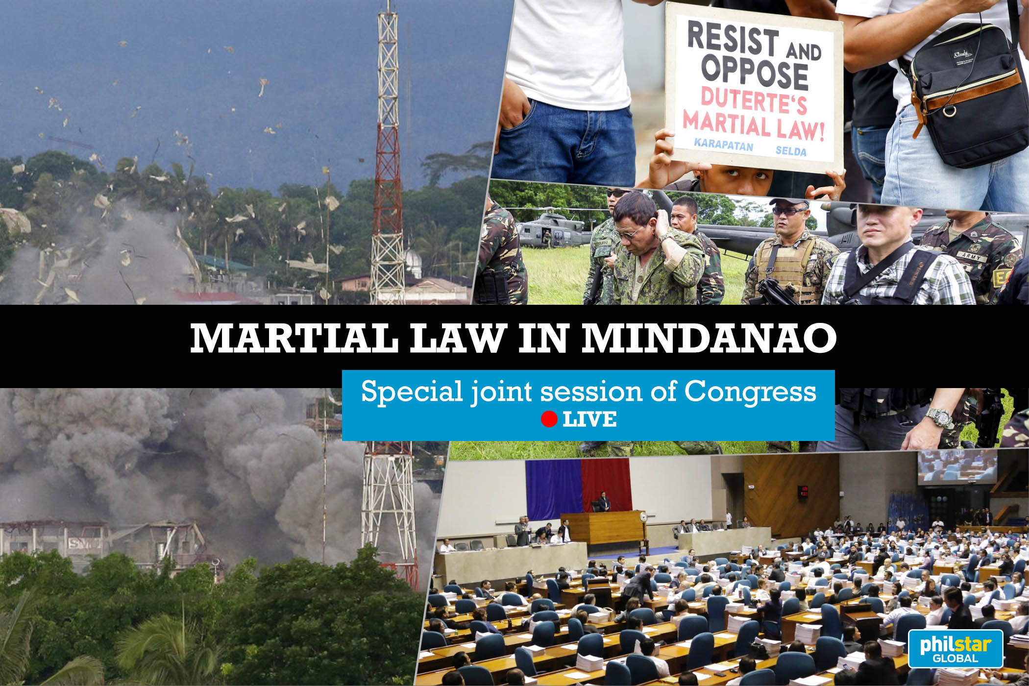 LIVE: Joint Congress session on martial law extension