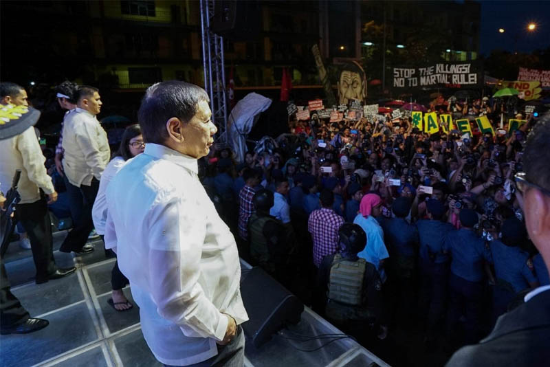 Palace: Duterte against student 'walkouts' from classes, not protests
