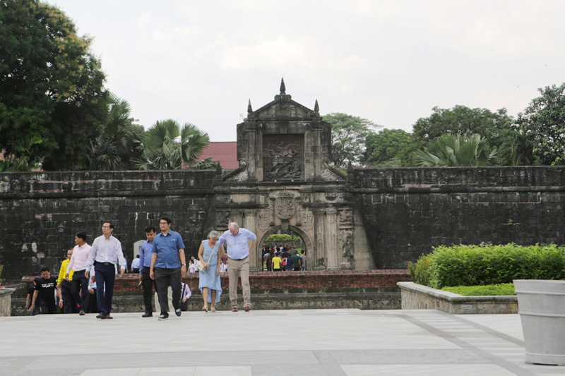 The revitalized Fort Santiago features more lush, green spaces and accessible walkways, making the historical site more visitor-friendly. STAR photos by Ernie Peñaredondo